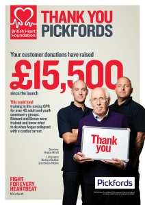 BHF_Retail - Thank You Posters_A4 (2014) Pickfords 2