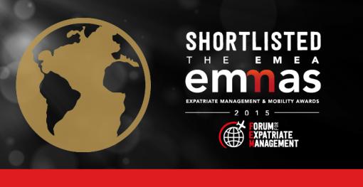 EMEA Shortlisted button